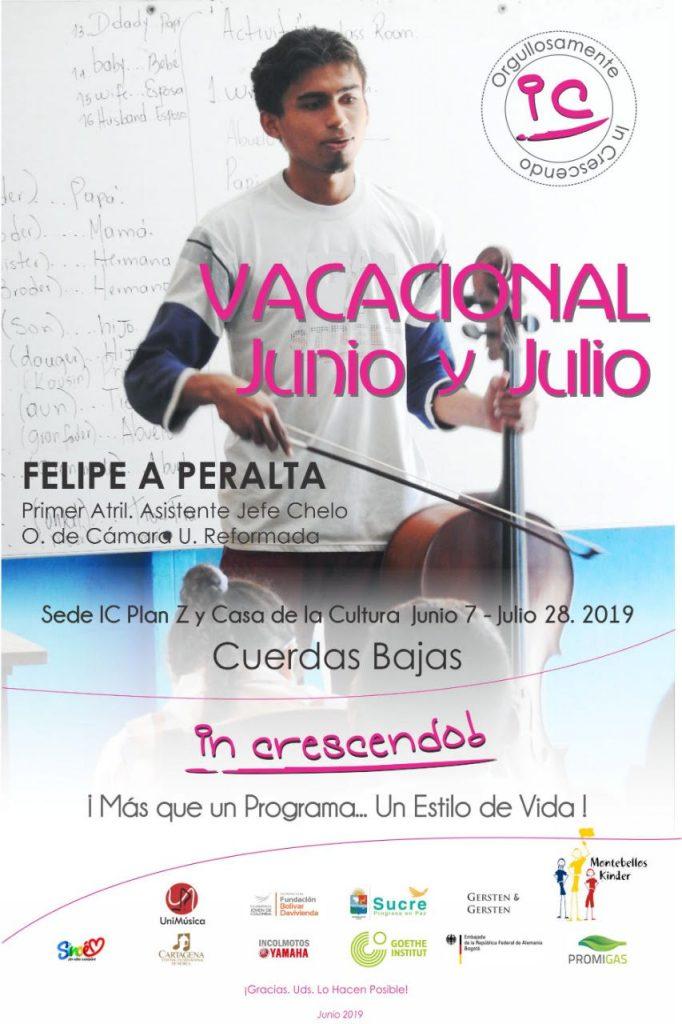 Curso vacacional Felipe Peralta