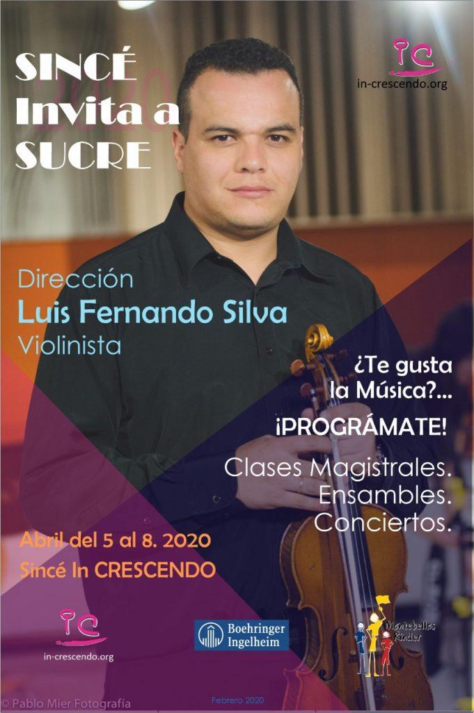 Invitación a Clases Magistrales, talleres y conciertos del 5 al 8 de abril en Sincé Sucre