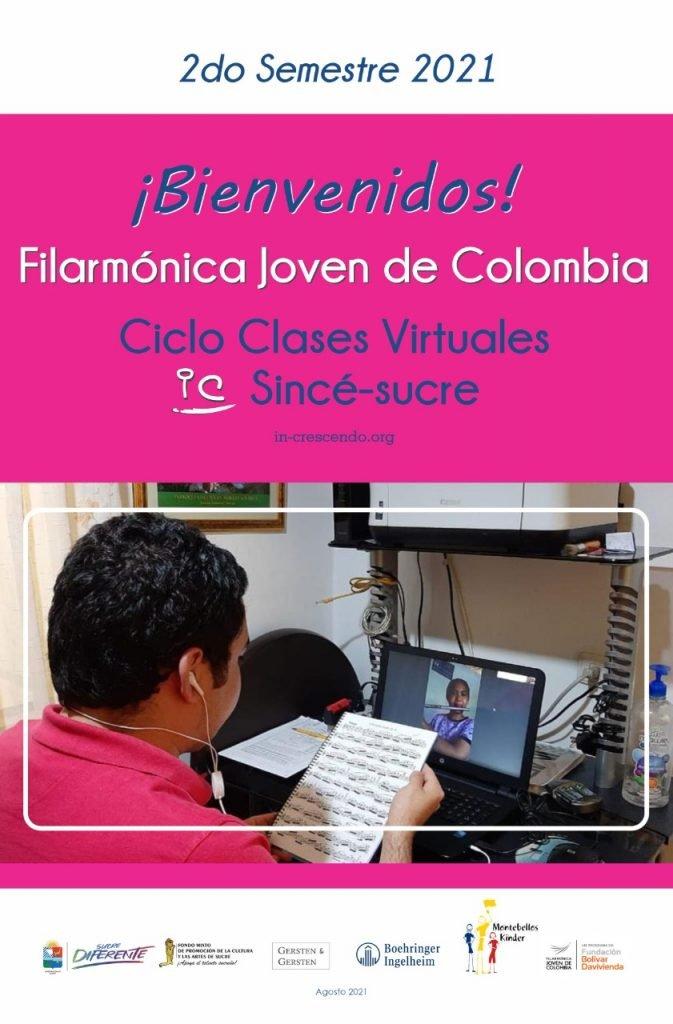 Bienvenidos Filarmónica Joven de Colombia a el Ciclo de clases virtuales